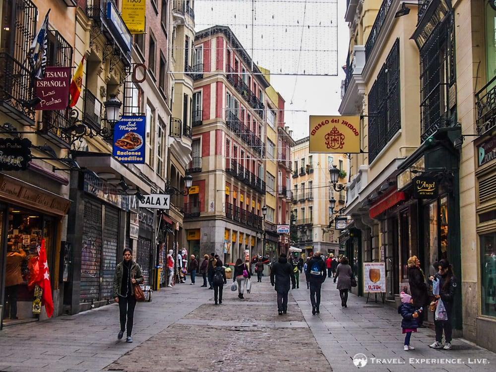 Calle Postas in Madrid