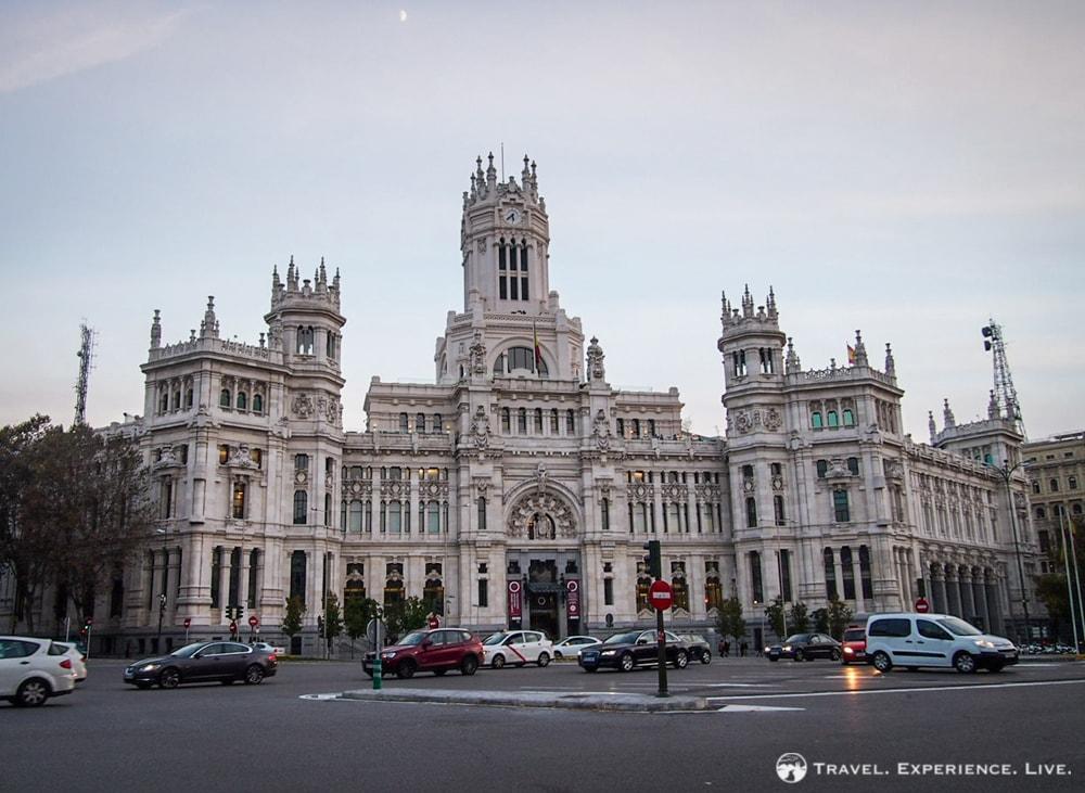 City Hall of Madrid at Plaza de Cibeles