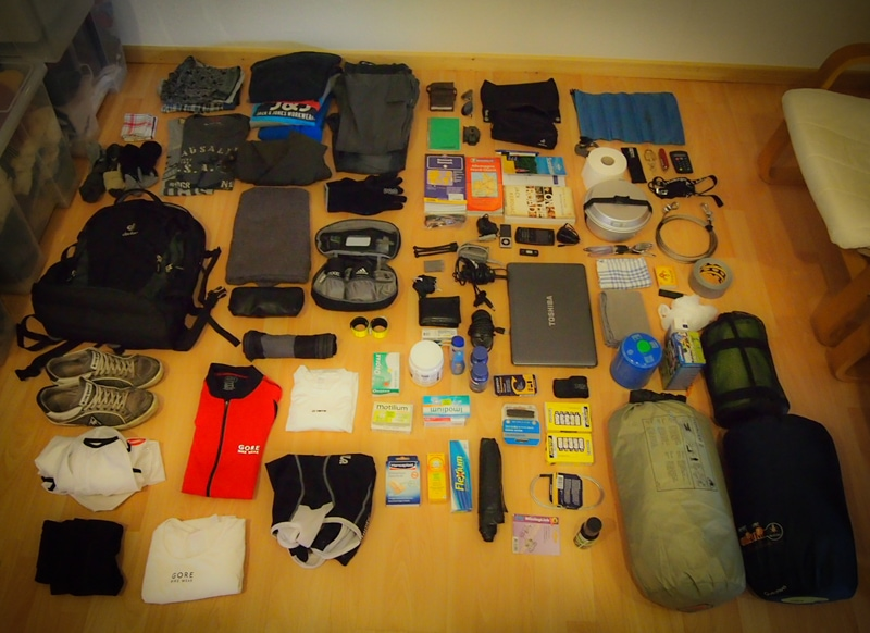 Bicycle Touring Packing List: Gear