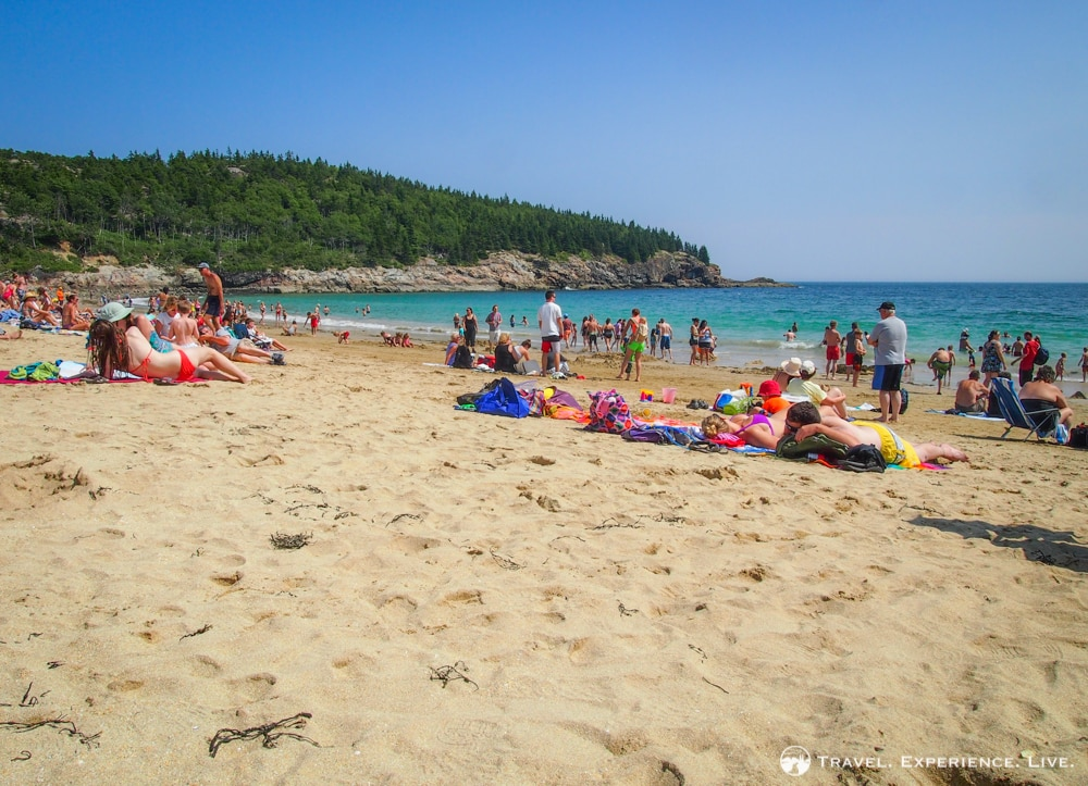 What to Do in Acadia National Park: Sand Beach