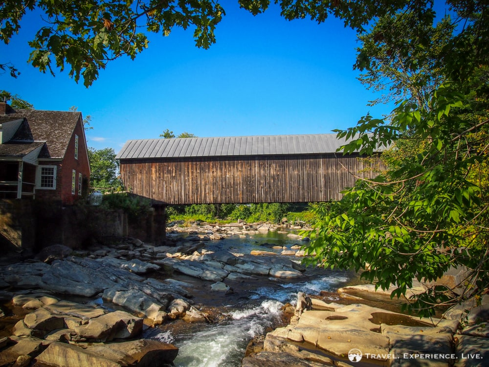 Covered Bridges of Vermont: Mill Bridge
