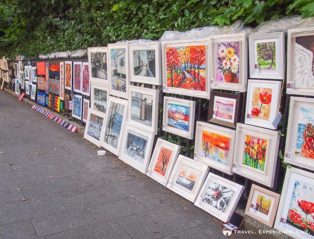 Merrion Square Open Air Art Gallery, Dublin