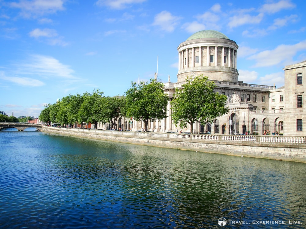 The Four Courts in Dublin, Ireland