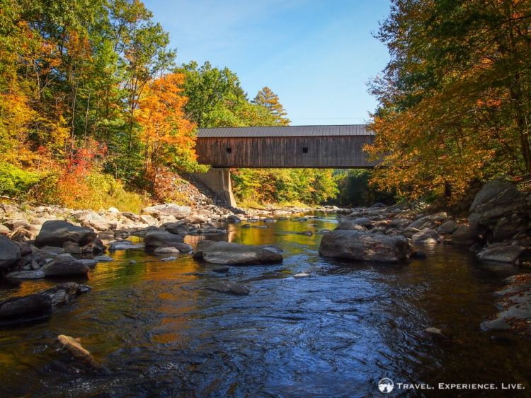 Covered Bridges of Vermont: Upper Falls Bridge