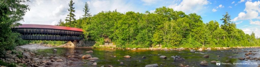 Covered Bridge in Albany, New Hampshire