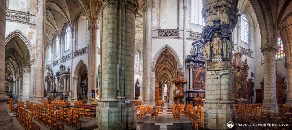 St. Martin's Collegiate Church in Aalst, Belgium