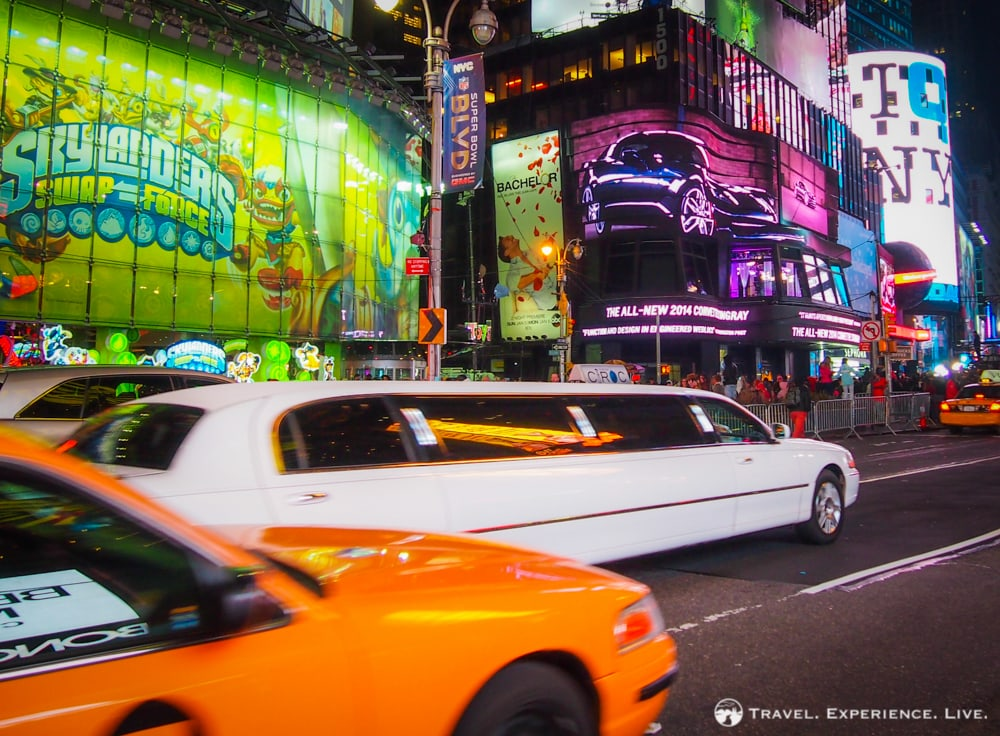 Limousine in New York City, NY