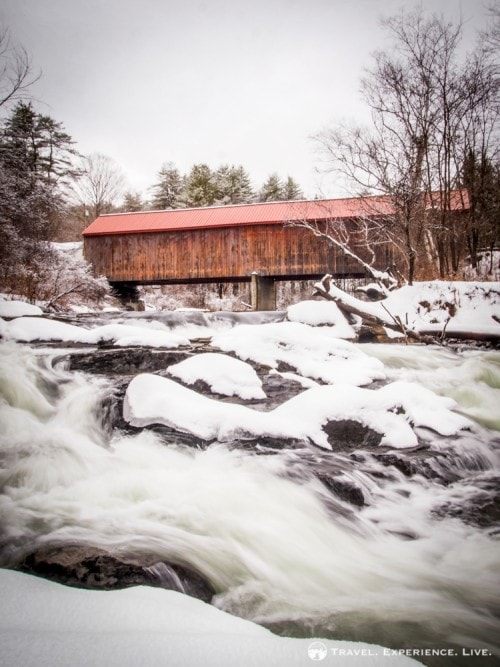 Sayres Covered Bridge, Thetford, Vermont
