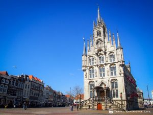 Town Hall in Gouda, the Netherlands