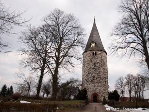 Interesting tower-like building in northern Germany
