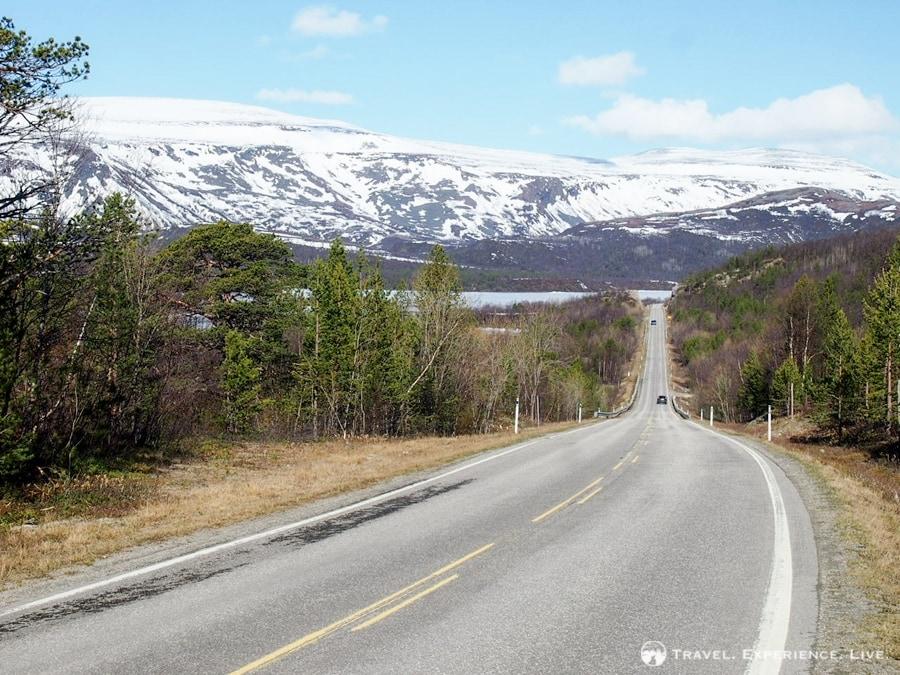 Headed toward the Porsangerfjord, Norway