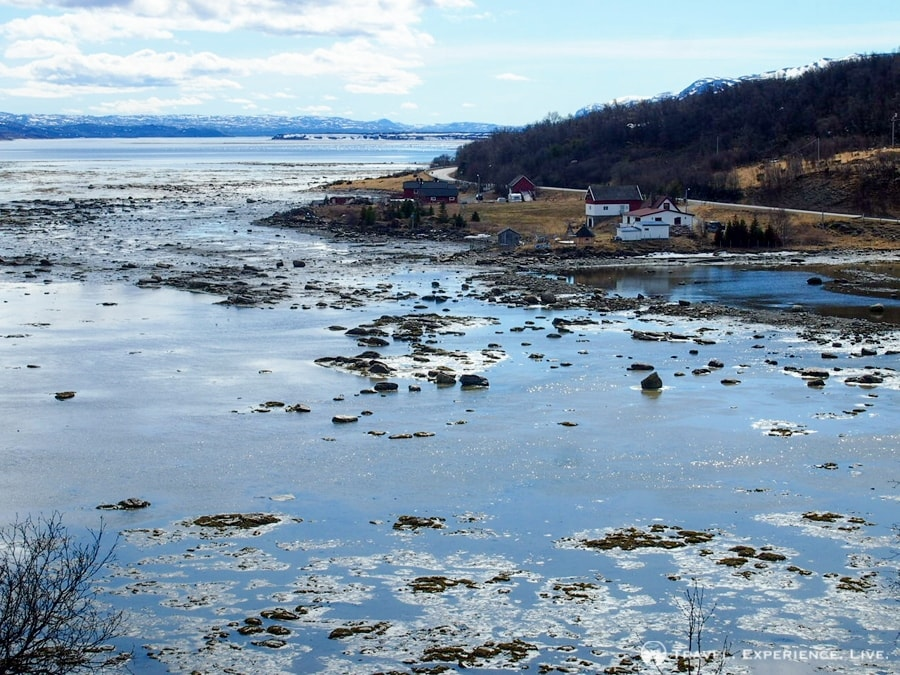 The stunning Porsangerfjord, Norway