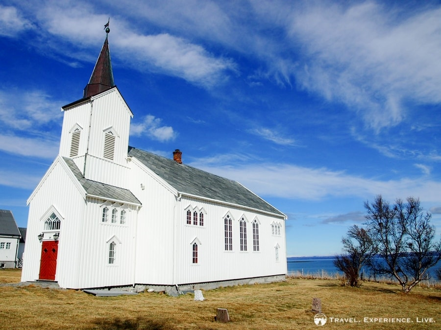 A church in northern Norway