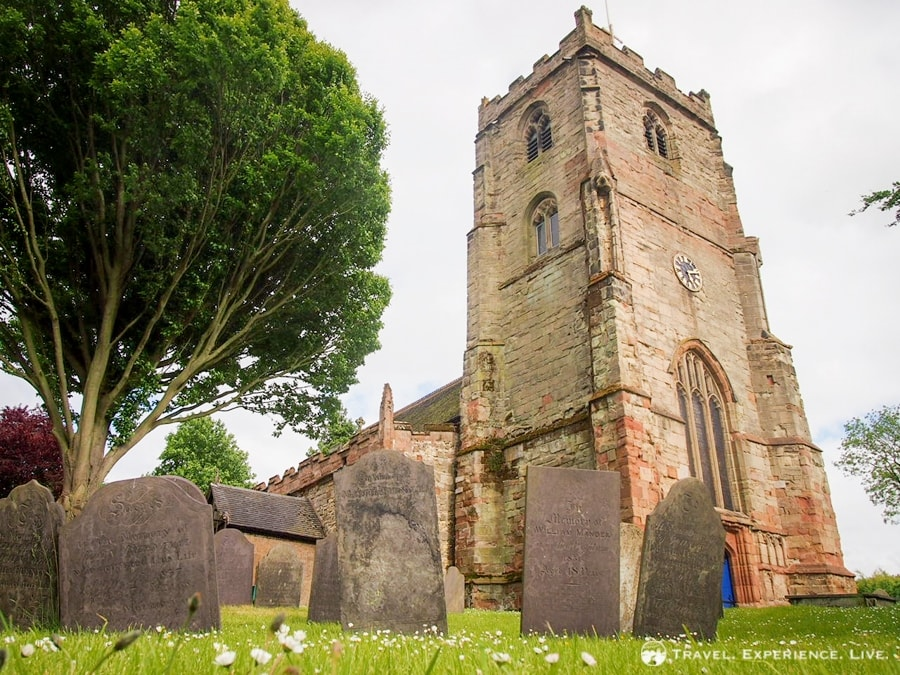 Church in Brinklow, England
