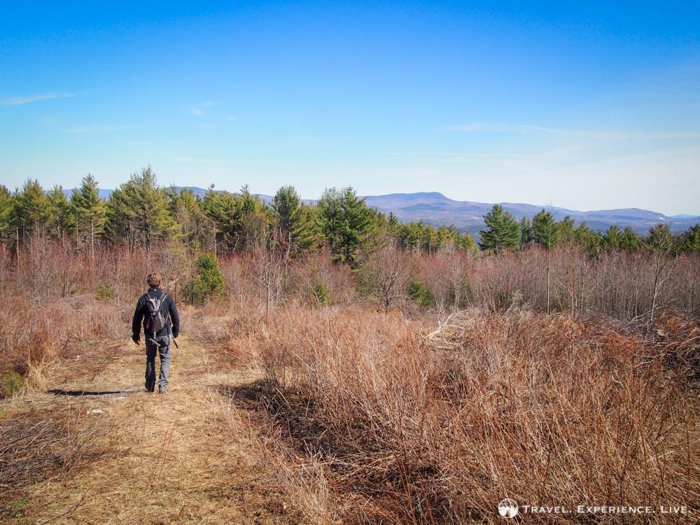 Bram hiking Bald Top Mountain