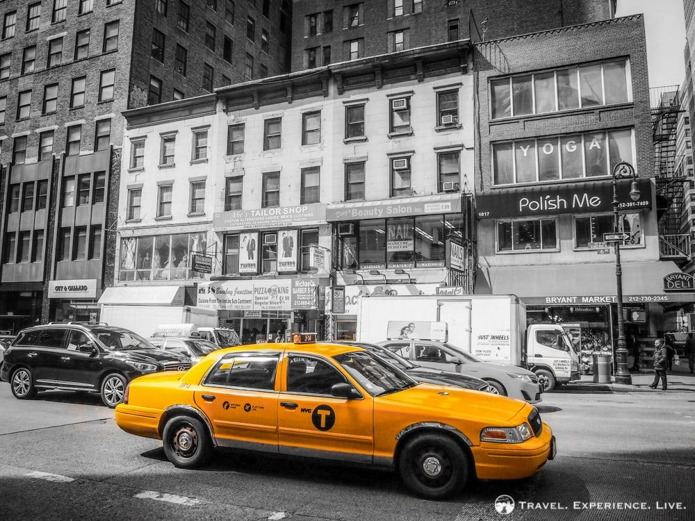 Taxicab in Manhattan, New York City