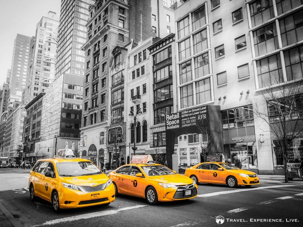 Iconic Taxis in Manhattan, New York City