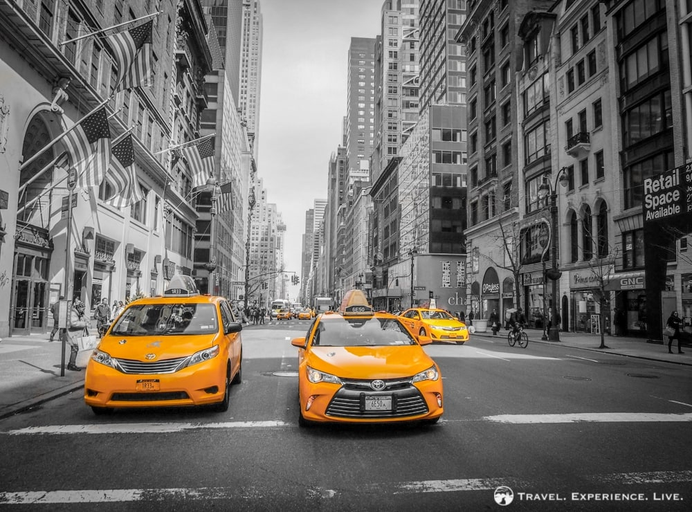 Taxis in Manhattan, New York City