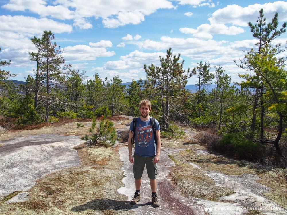 Bram on Blueberry Mountain