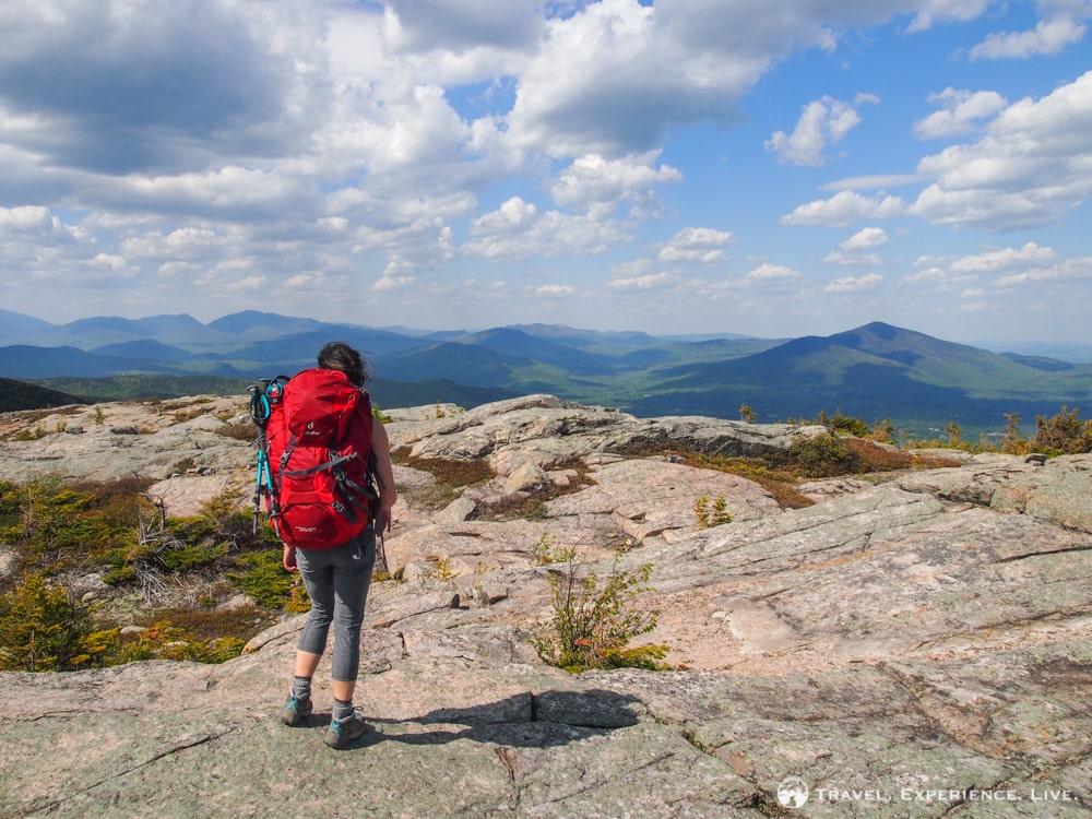 Caroline on Middle Moat Mountain