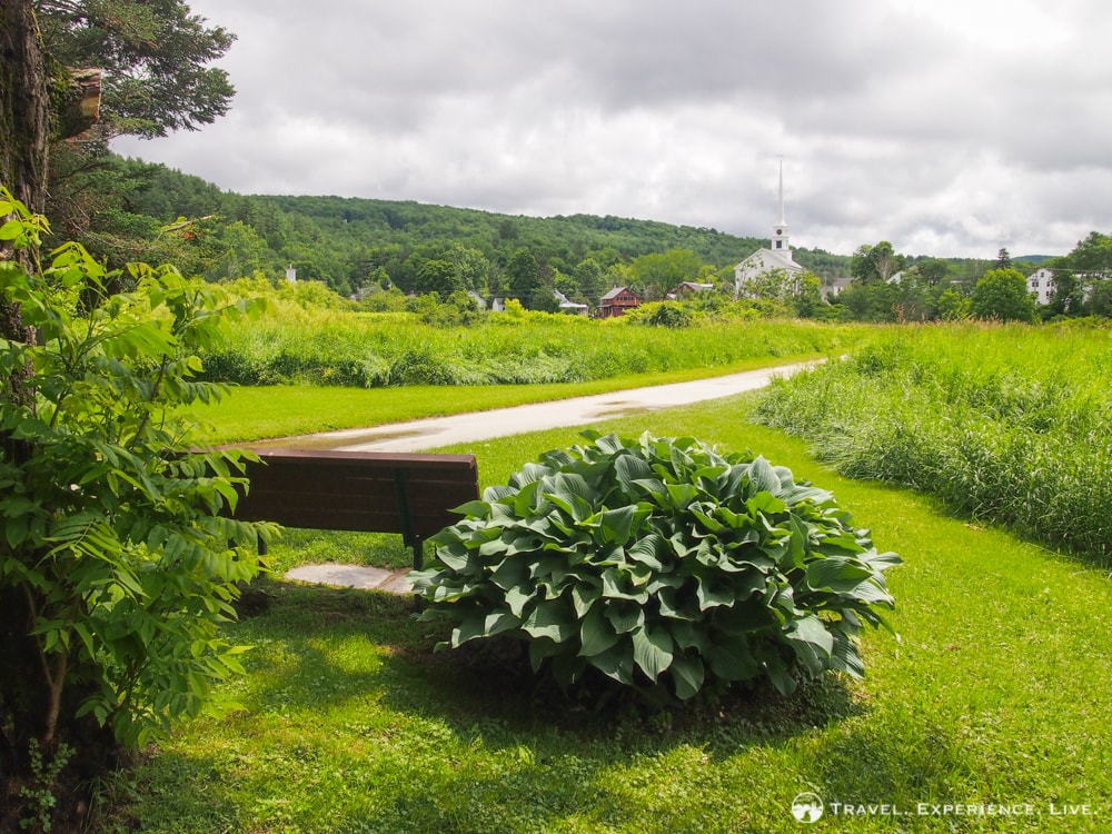 Anniversary in Stowe: Recreation Path