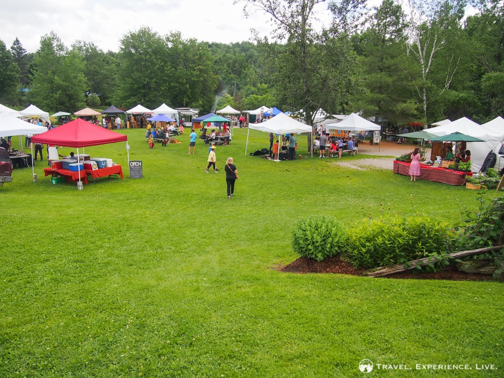 Anniversary in Stowe, Vermont: Stowe Farmers' Market