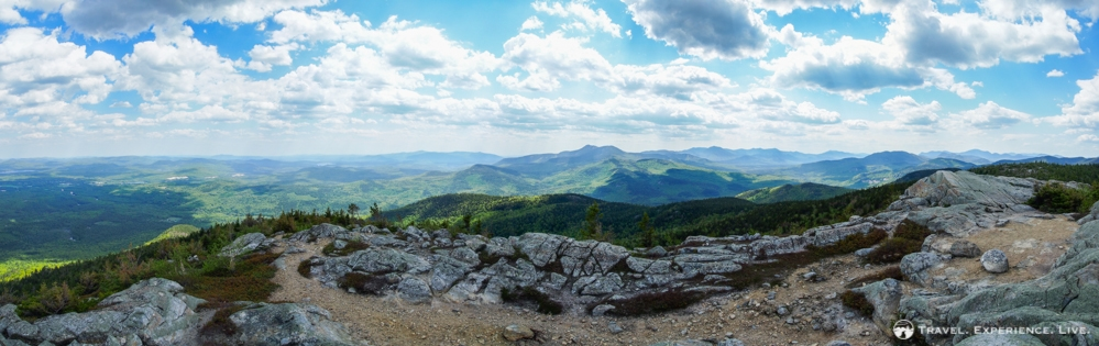 Spectacular view from South Moat Mountain, New Hampshire