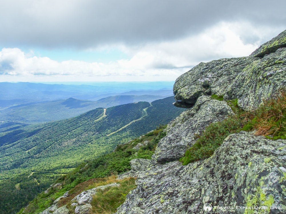 Summit of Mount Mansfield, Green Mountains, Vermont