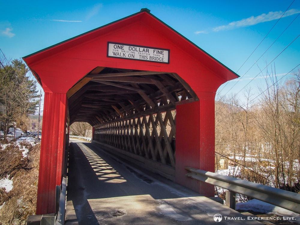 Chiselville Covered Bridge, Arlington, Vermont