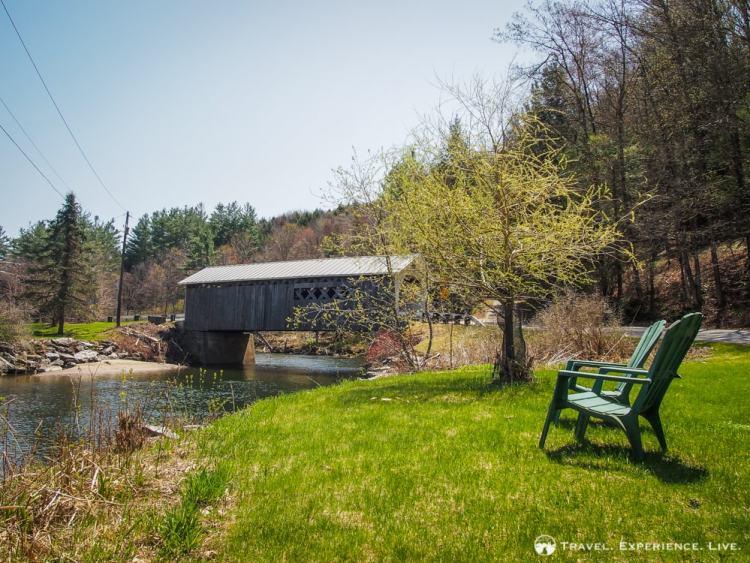 Comstock Bridge, Montgomery, Covered Bridges in Vermont