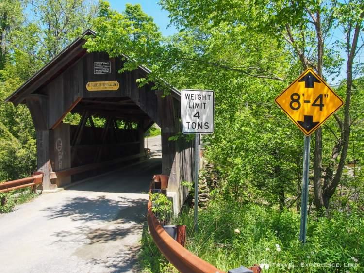 Gold Brook Bridge, Stowe, Vermont