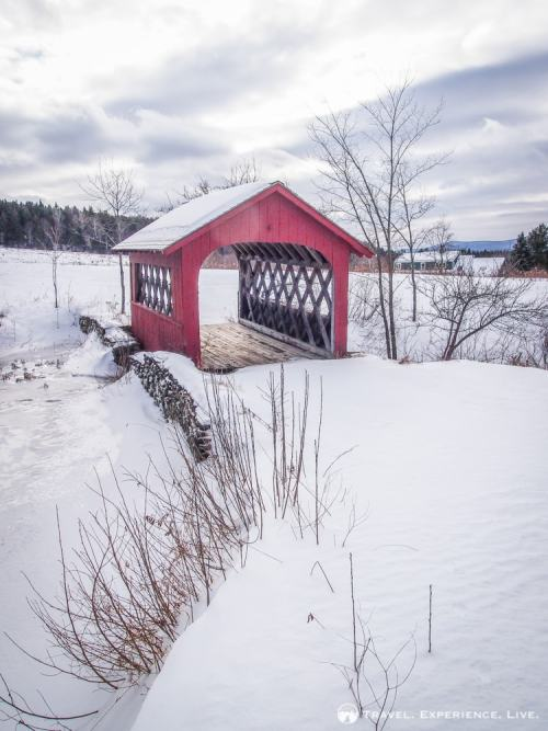 High Moving Farm Bridge, Wilmington, Vermont