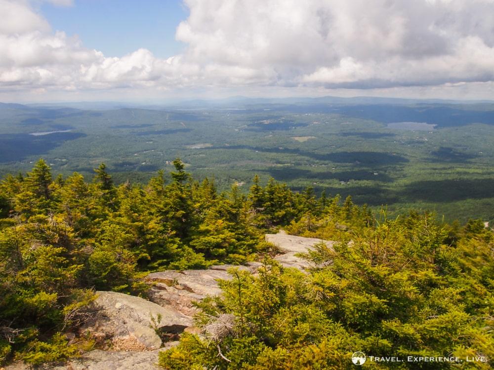 Hiking Mount Kearsarge: summit view