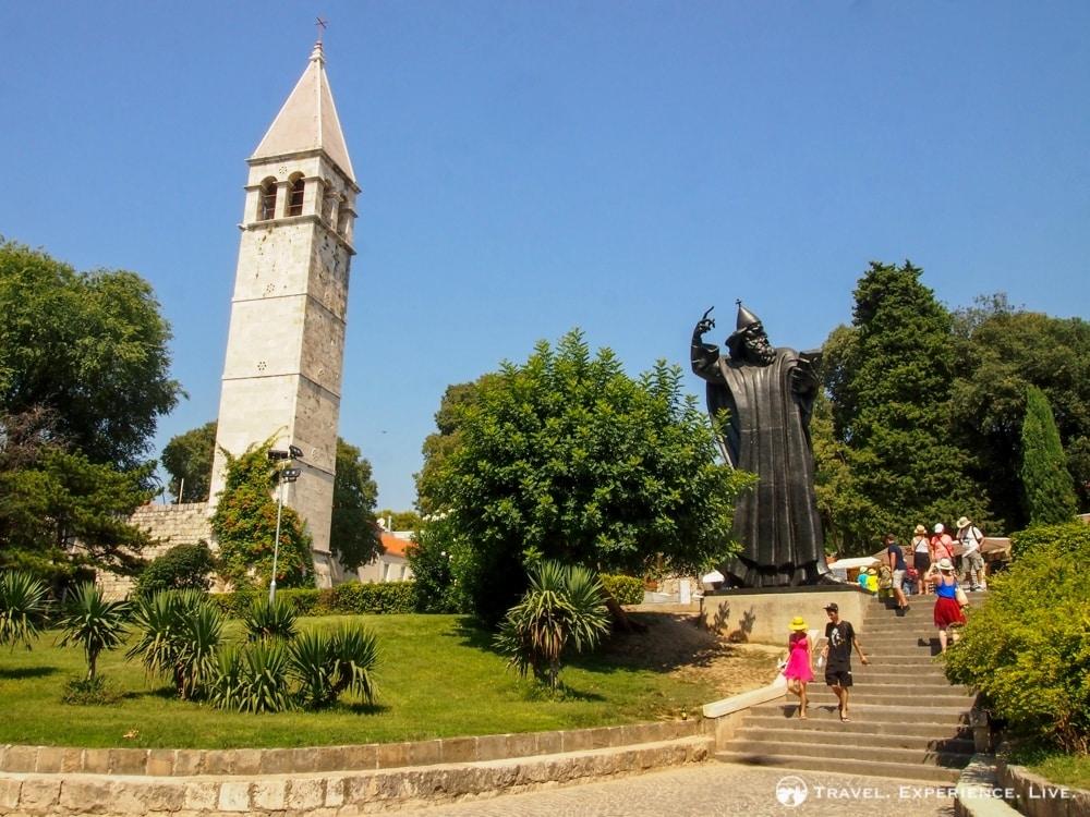 Bishop Gregory of Nin Statue, Split