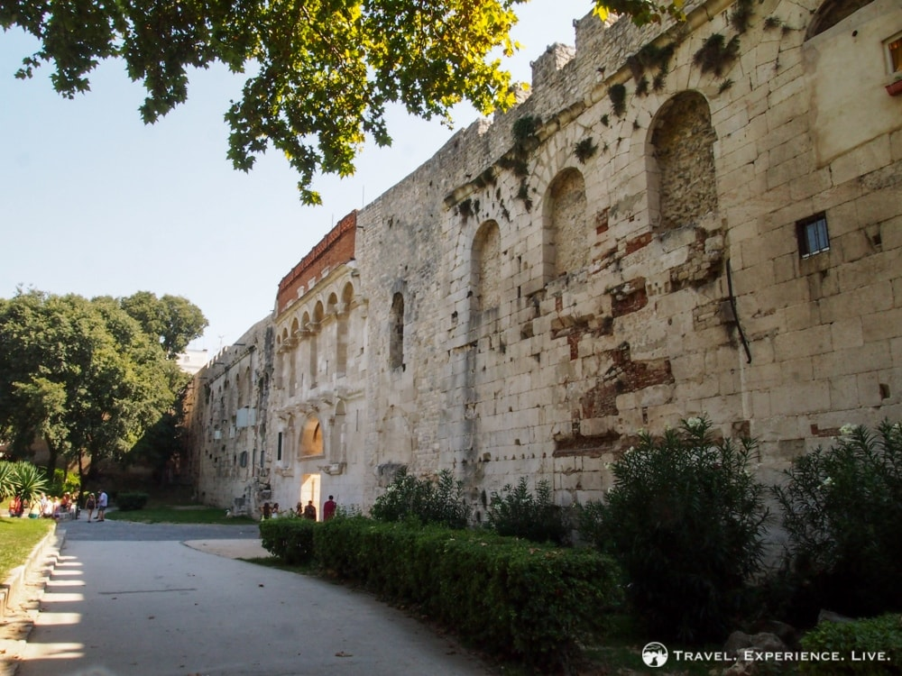 Golden Gate, Diocletian's Palace in Split