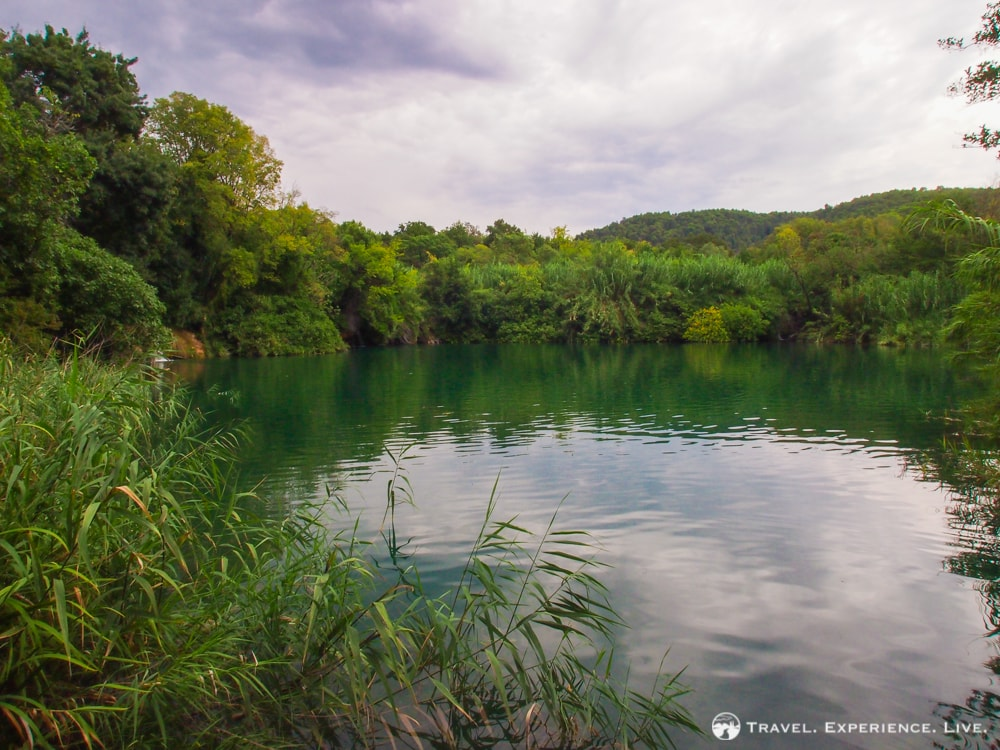 Lake in Krka National Park, Croatia