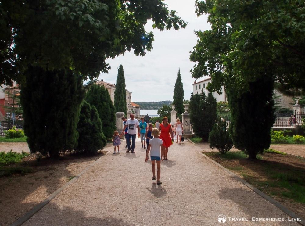Park in Šibenik, Croatia - Visit Šibenik