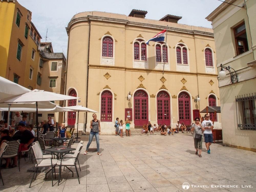 Theater building, Šibenik, Croatia