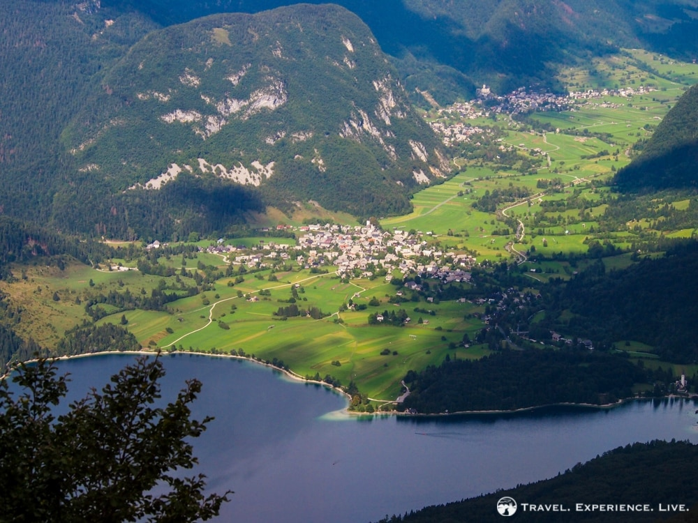 View of the Upper Valley in Bohinj, Slovenia