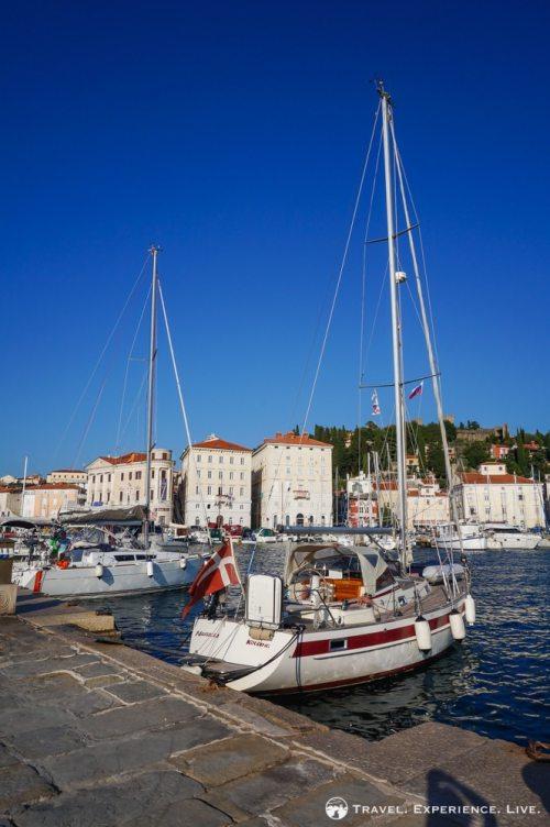 Harbor of Piran, Slovenia