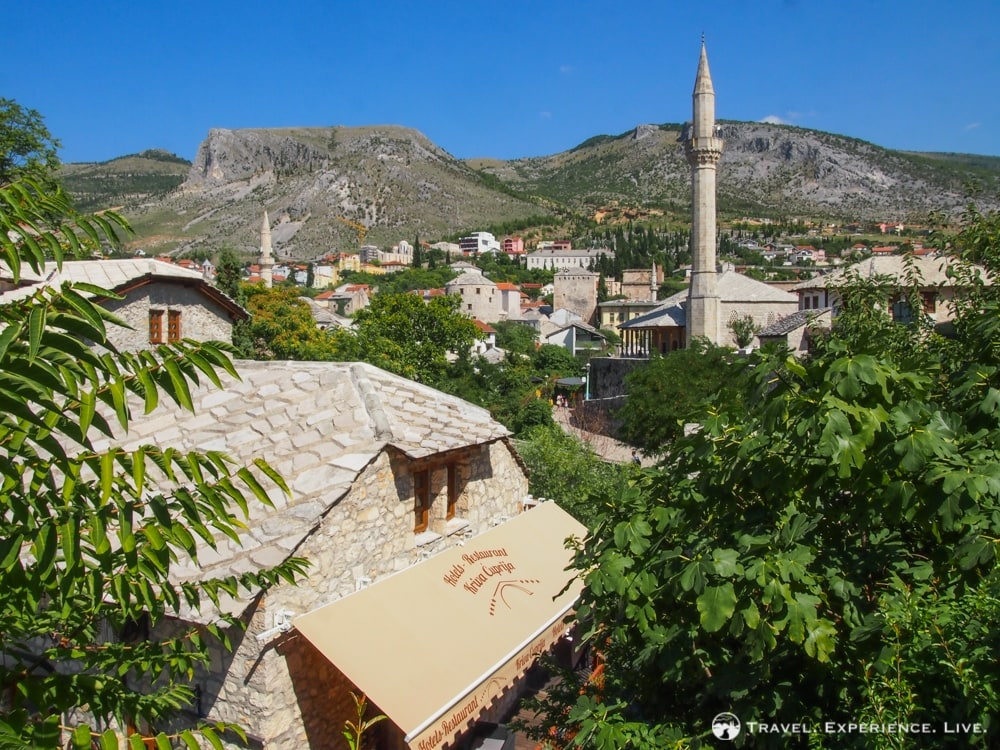 Mosque in Mostar, Bosnia and Herzegovina