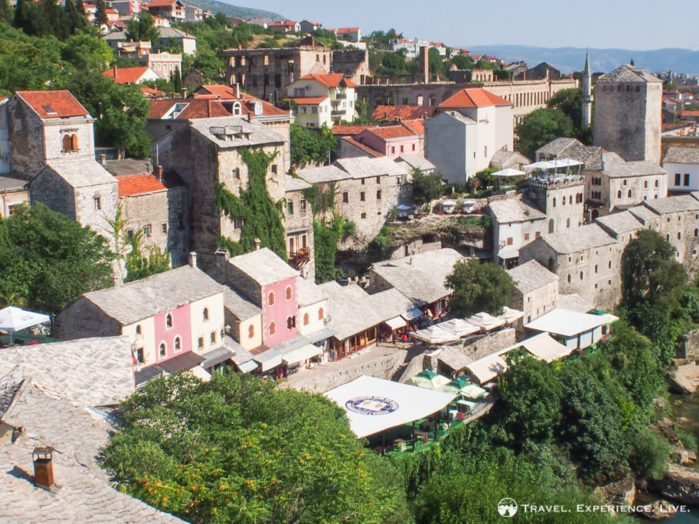Overlooking Mostar, Bosnia and Herzegovina