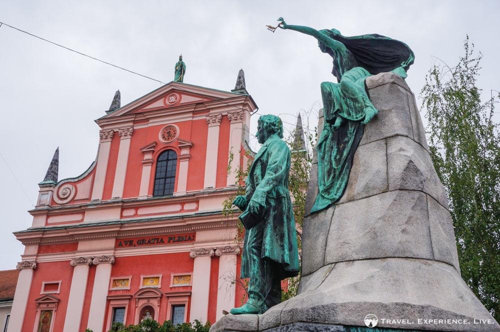 Prešeren Monument, Ljubljana