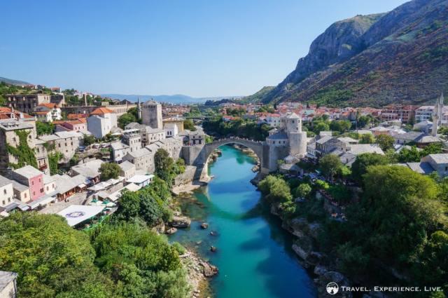Stari Most in Mostar, Bosnia and Herzegovina