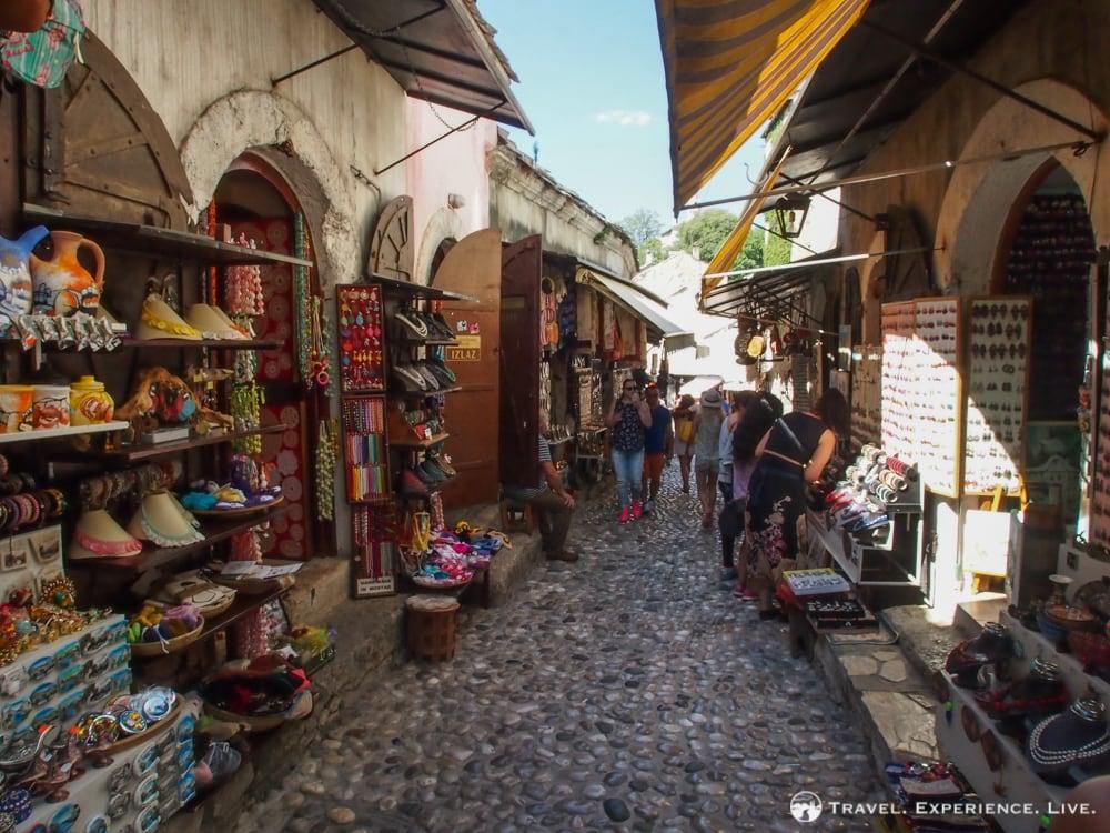 Turkish bazaar in Mostar