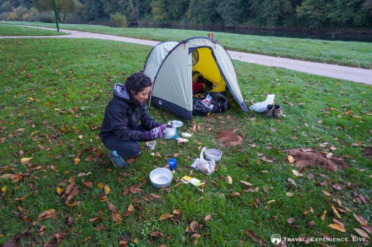 Camping in Born, Luxembourg