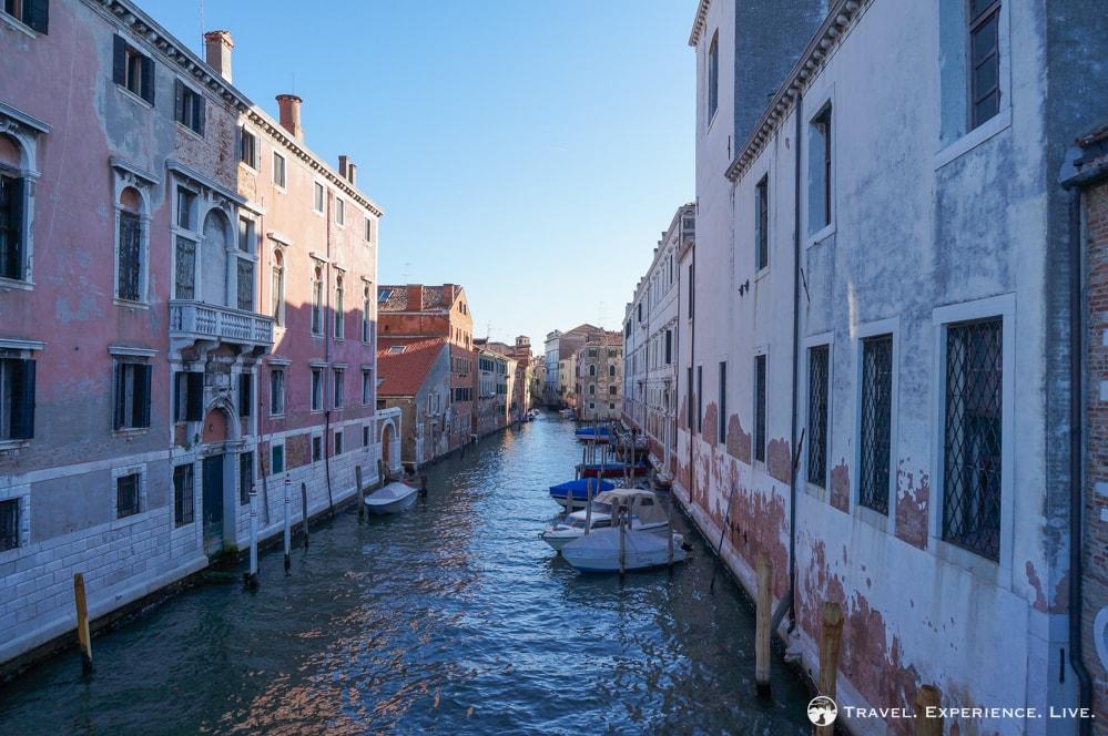 Venice photos: Canal in Venice