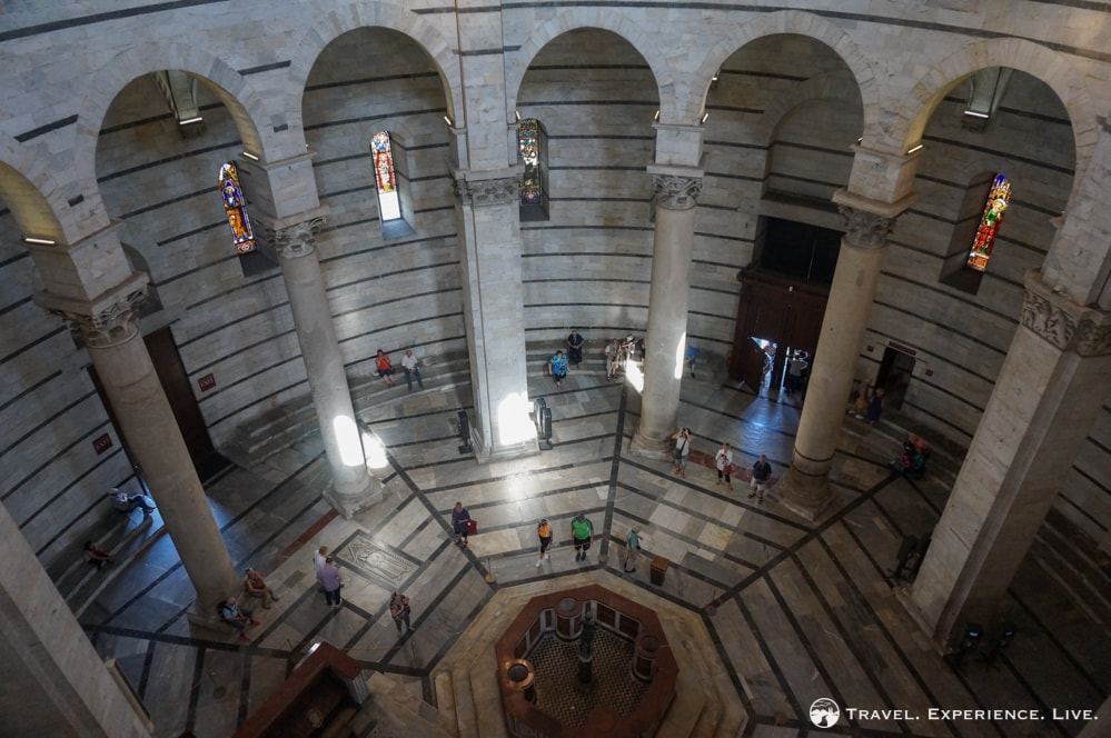 Day Trip to Pisa: Inside the Baptistery, Pisa