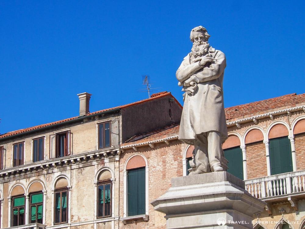 Nicolo Tommaseo Statue, Venice