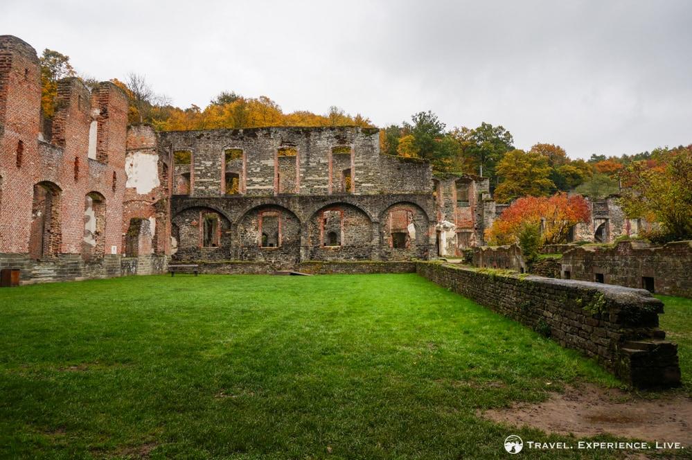 Villers-la-Ville Abbey ruins, Belgium